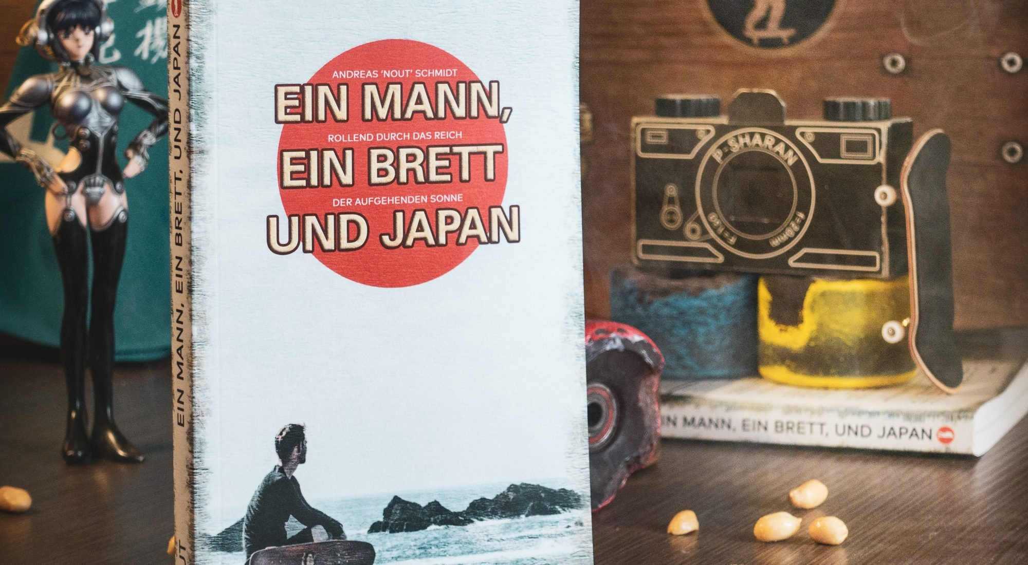Ein Mann ein Brett und Japan - Taschenbuch Produktfoto